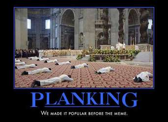 Planking - We made it popular before the meme